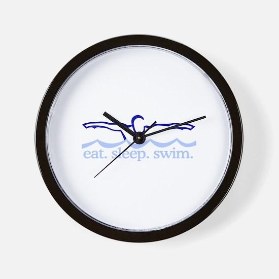 Swim (Swimmer) Wall Clock