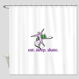 Skate (Scene) Shower Curtain