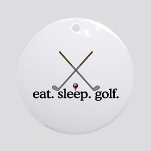 Golf (Clubs) Ornament (Round)