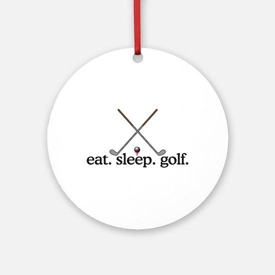 Golf (Clubs) Ornament (Round)