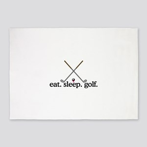 Golf (Clubs) 5'x7'Area Rug
