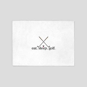 Golf (Clubs) 5'x7'Area Rug