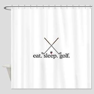 Golf (Clubs) Shower Curtain
