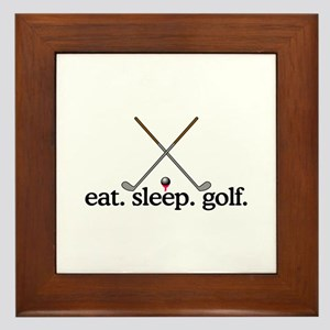 Golf (Clubs) Framed Tile