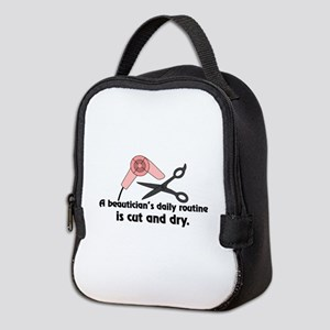 Beauticians Routine Neoprene Lunch Bag