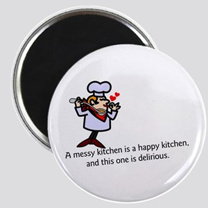 A Messy Kitchen Magnets