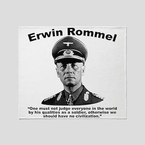 Rommel: Soldiers Throw Blanket