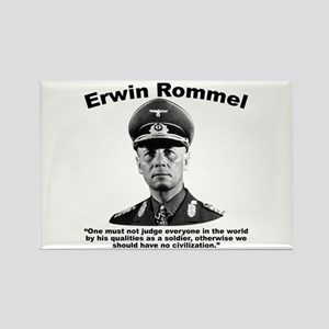 Rommel: Soldiers Rectangle Magnet