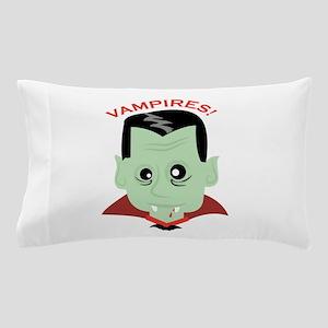 Vampires Head Pillow Case