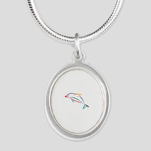 Multicolor Dolphin Necklaces
