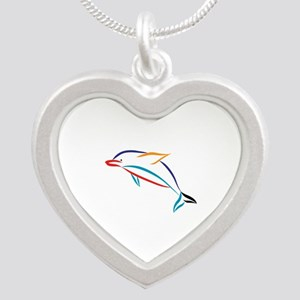 Multicolor Dolphin Necklaces