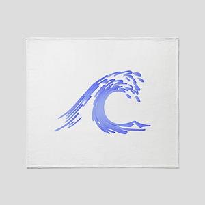 Wave Throw Blanket