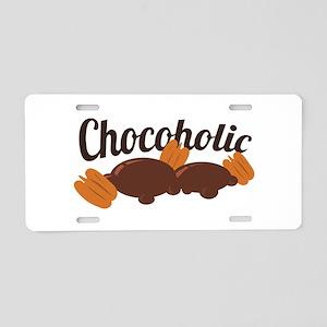 Chocoholic Turtles Aluminum License Plate