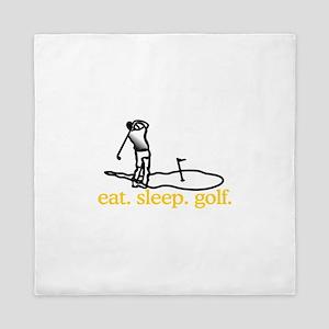 Golf (Scene) Queen Duvet