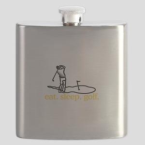 Golf (Scene) Flask