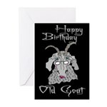Old Goat Birthday 4 Her Greeting Cards (Pk of 10)