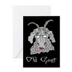 Old Goat Her Greeting Card