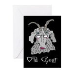 Old Goat Her Greeting Cards (Pk of 10)