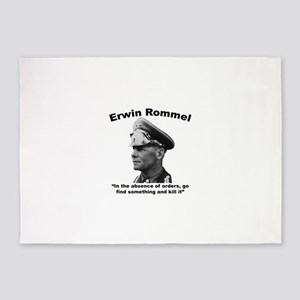 Rommel: Kill It 5'x7'Area Rug