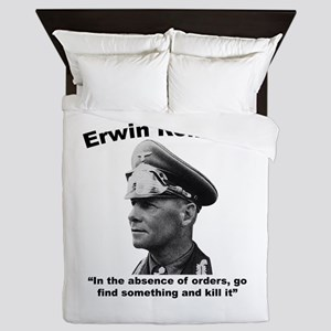 Rommel: Kill It Queen Duvet