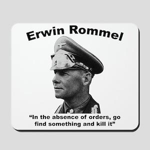 Rommel: Kill It Mousepad
