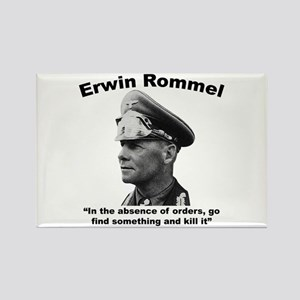 Rommel: Kill It Rectangle Magnet