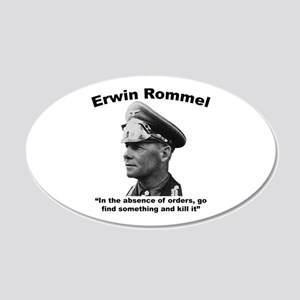 Rommel: Kill It 20x12 Oval Wall Decal