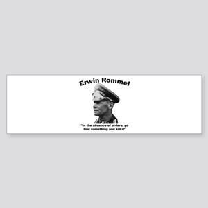 Rommel: Kill It Sticker (Bumper)