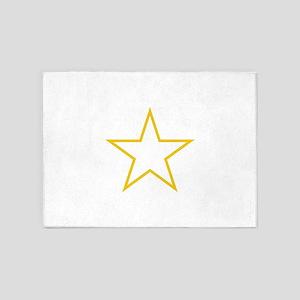 Star Outline 5'x7'Area Rug