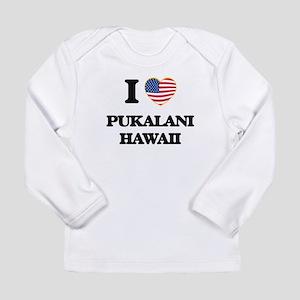 I love Pukalani Hawaii Long Sleeve T-Shirt