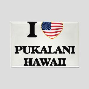 I love Pukalani Hawaii Magnets
