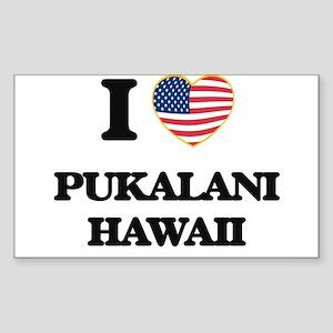 I love Pukalani Hawaii Sticker