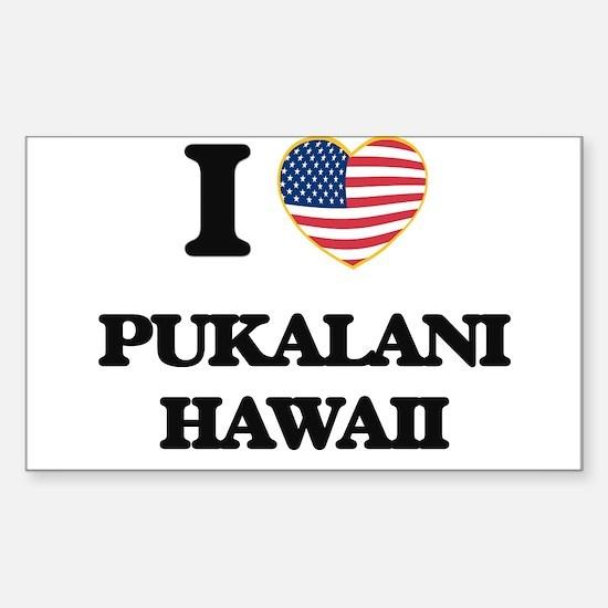 I love Pukalani Hawaii Decal