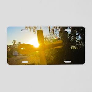 Dawn of Glory Aluminum License Plate