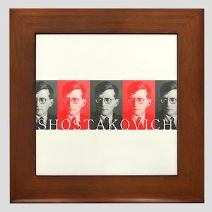 Shostakovich Framed Tile