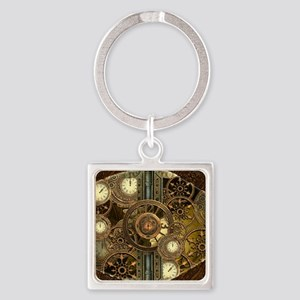 Steampunk, awessome clocks with gears Keychains
