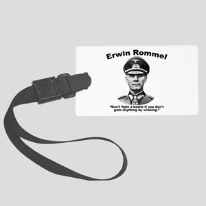 Rommel: Don't Fight Large Luggage Tag