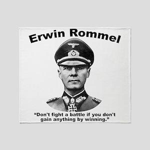 Rommel: Don't Fight Throw Blanket