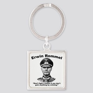 Rommel: Don't Fight Square Keychain