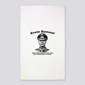 Rommel: Don't Fight Area Rug