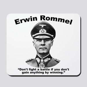 Rommel: Don't Fight Mousepad