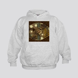 Steampunk, awessome clocks with gears Sweatshirt