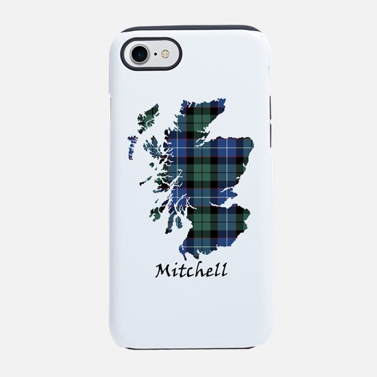 Map-Mitchell iPhone 7 Tough Case