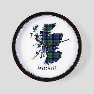 Map-Mitchell Wall Clock