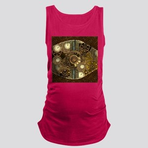 Steampunk, awessome clocks with gears Tank Top