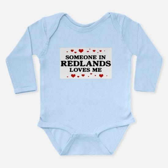 Loves Me in Redlands Infant Bodysuit Body Suit
