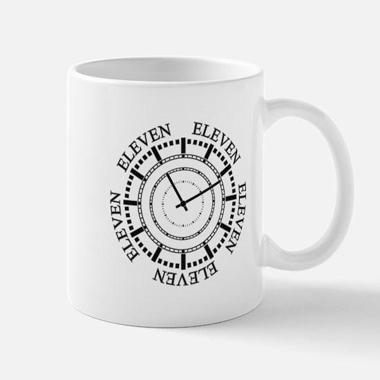 Eleven Eleven Roman Clock Mugs