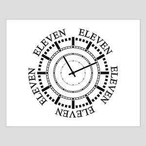 Eleven Eleven Roman Clock Posters