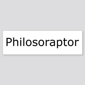 Philosoraptor Bumper Sticker