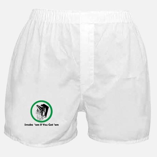 Smoke 'em Boxer Shorts